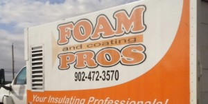 foam and coating pros truck